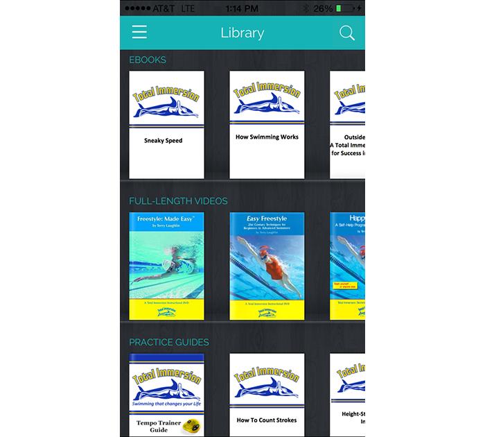 uscreen mobile app experience screenshot