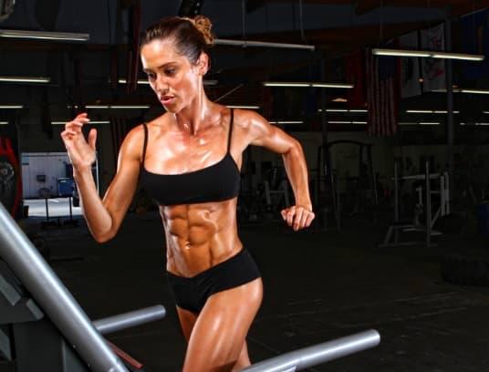 Christine Bullock training