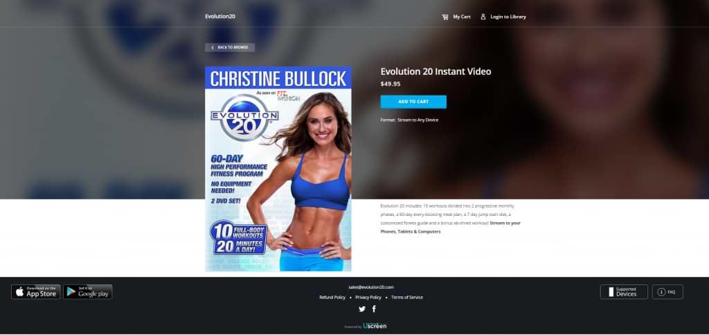 Uscreen Evolution20 Christine Bullock