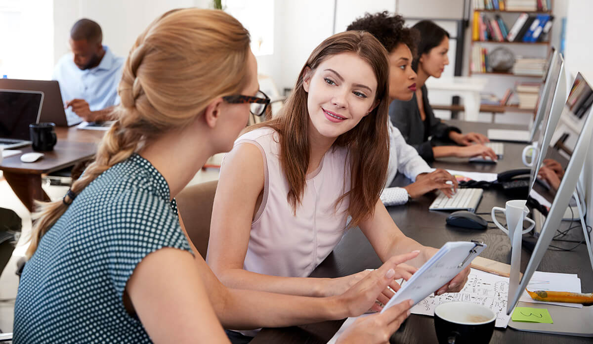 Employee video training program