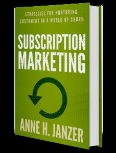 subscription marketing anne janzer