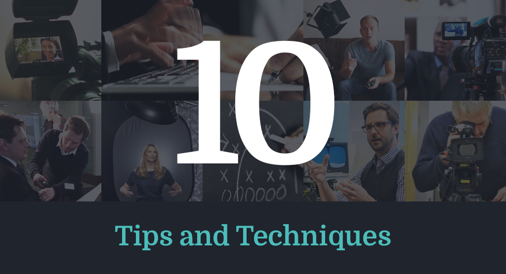 10 On-Camera Interview Tips and Techniques