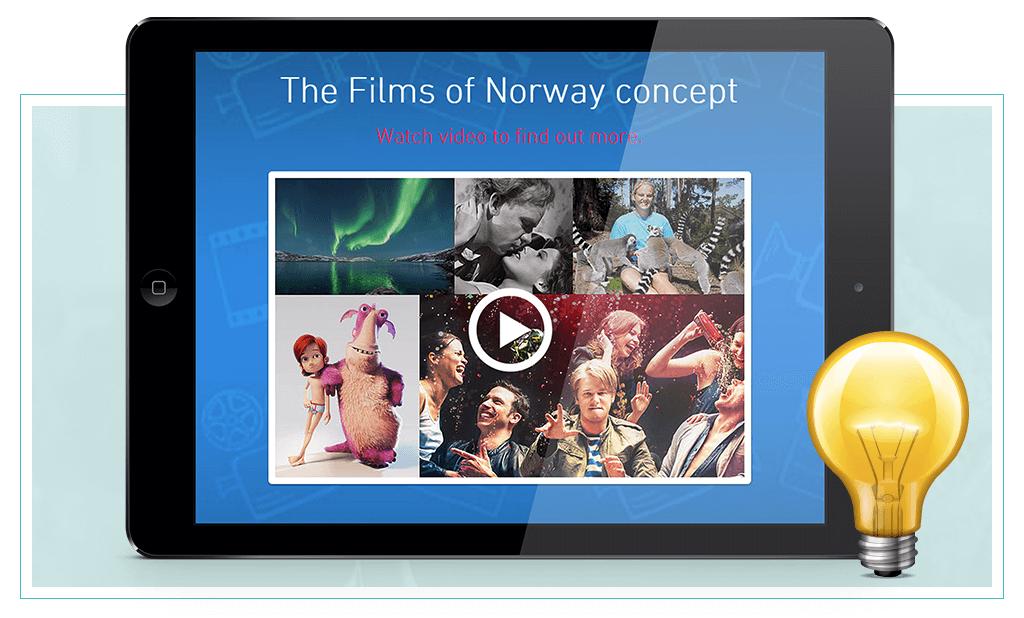 Films of Norway on iPad