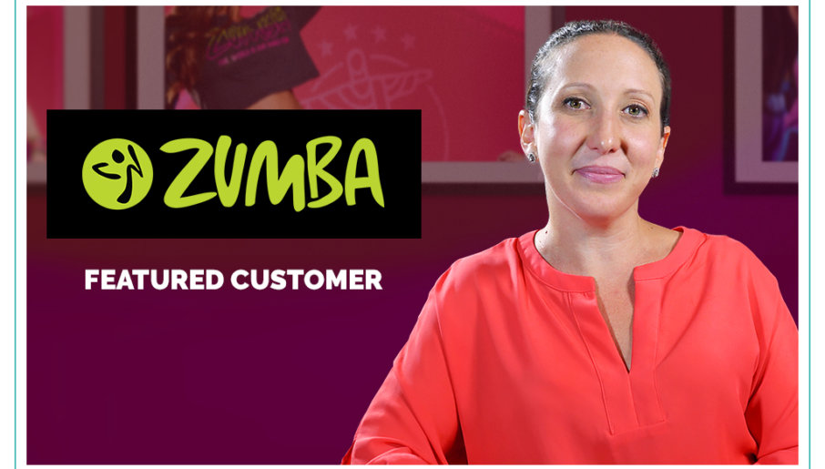 Zumba front row featured customer
