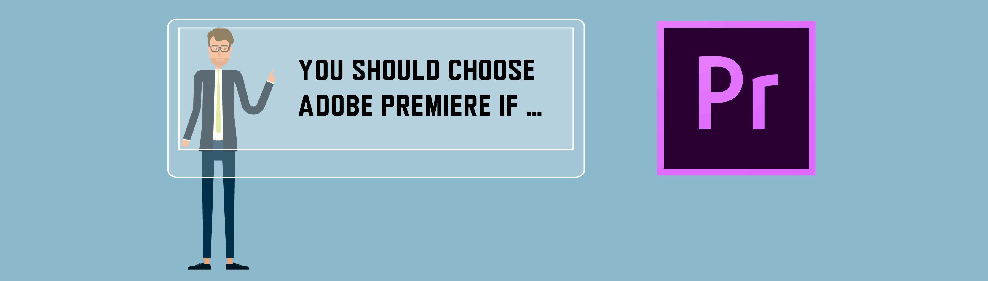 Use Adobe Premiere if