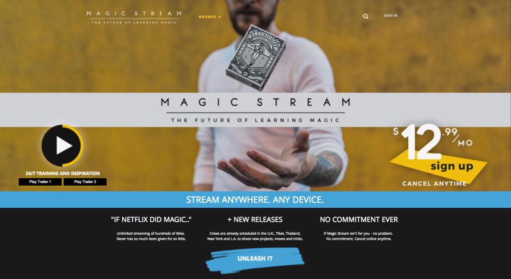 Magic Stream Uscreen