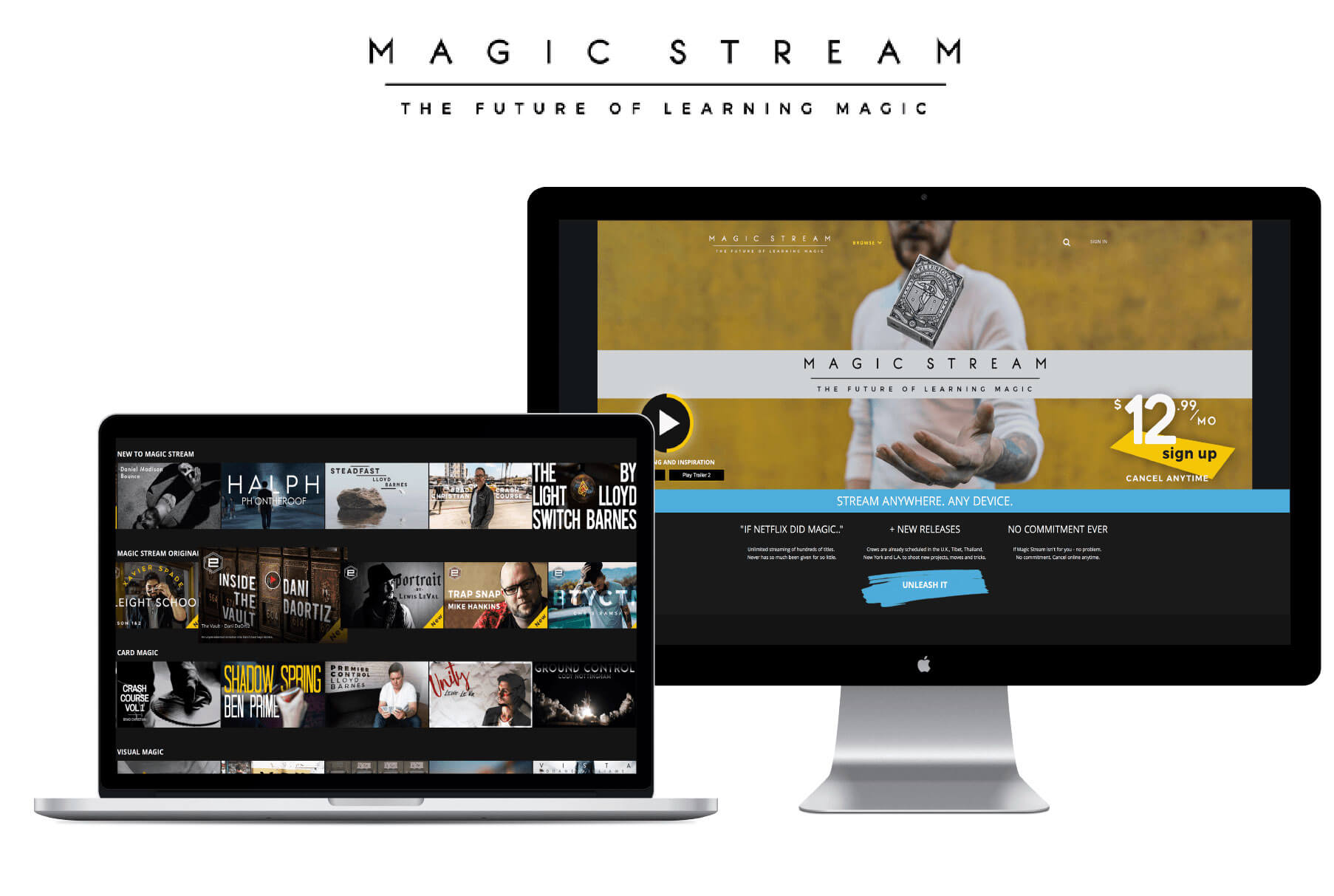 Magic Stream Homepage