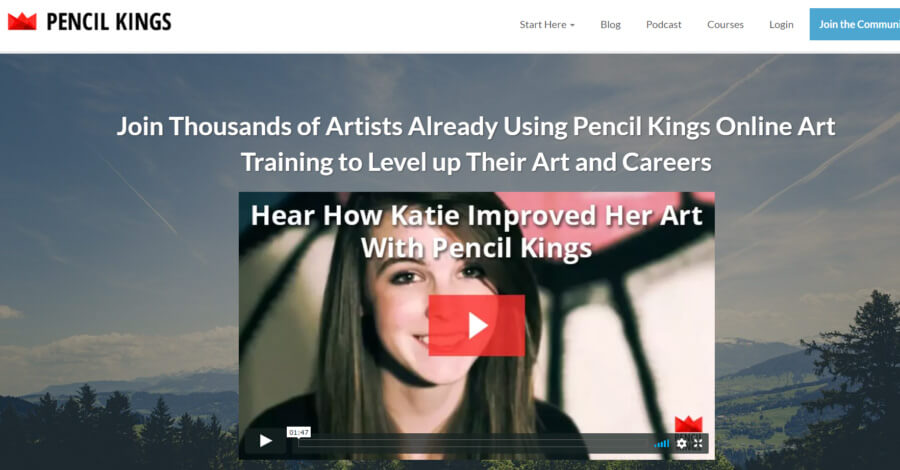Pencil Kings storefront