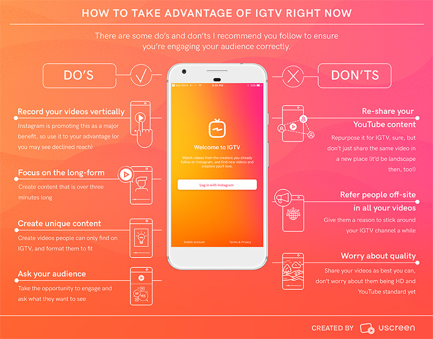 The Do's and Don'ts of IGTV