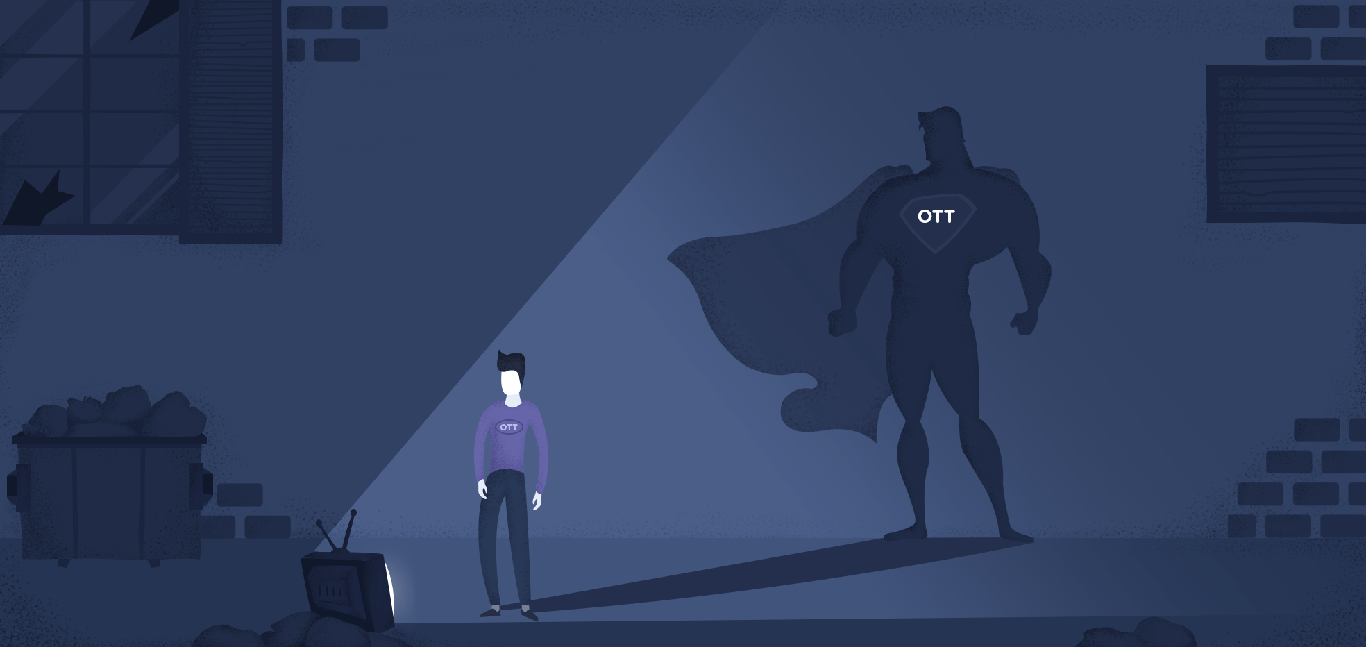 OTT apps make you a superhero in your niche