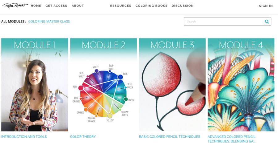 Rachel Reinert video website example