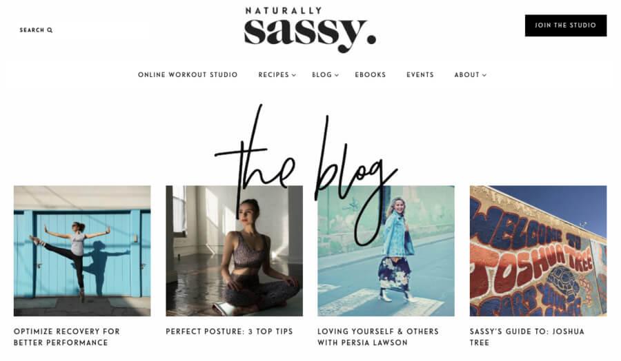 Naturally Sassy's blog