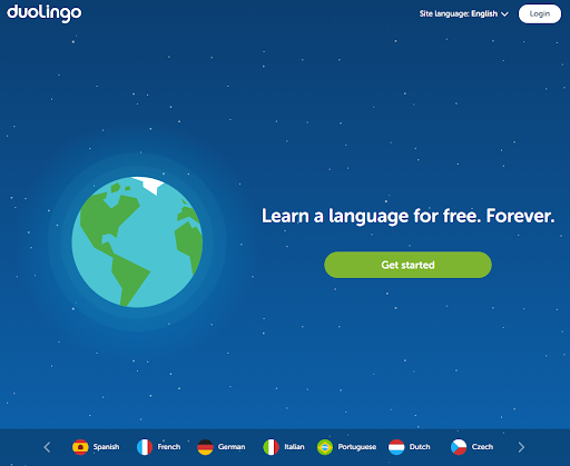 Duolingo Mobile Learning