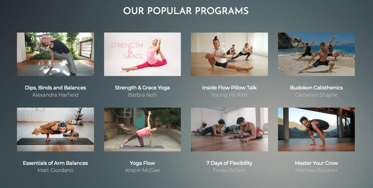 Yoga OTT service by TintYoga