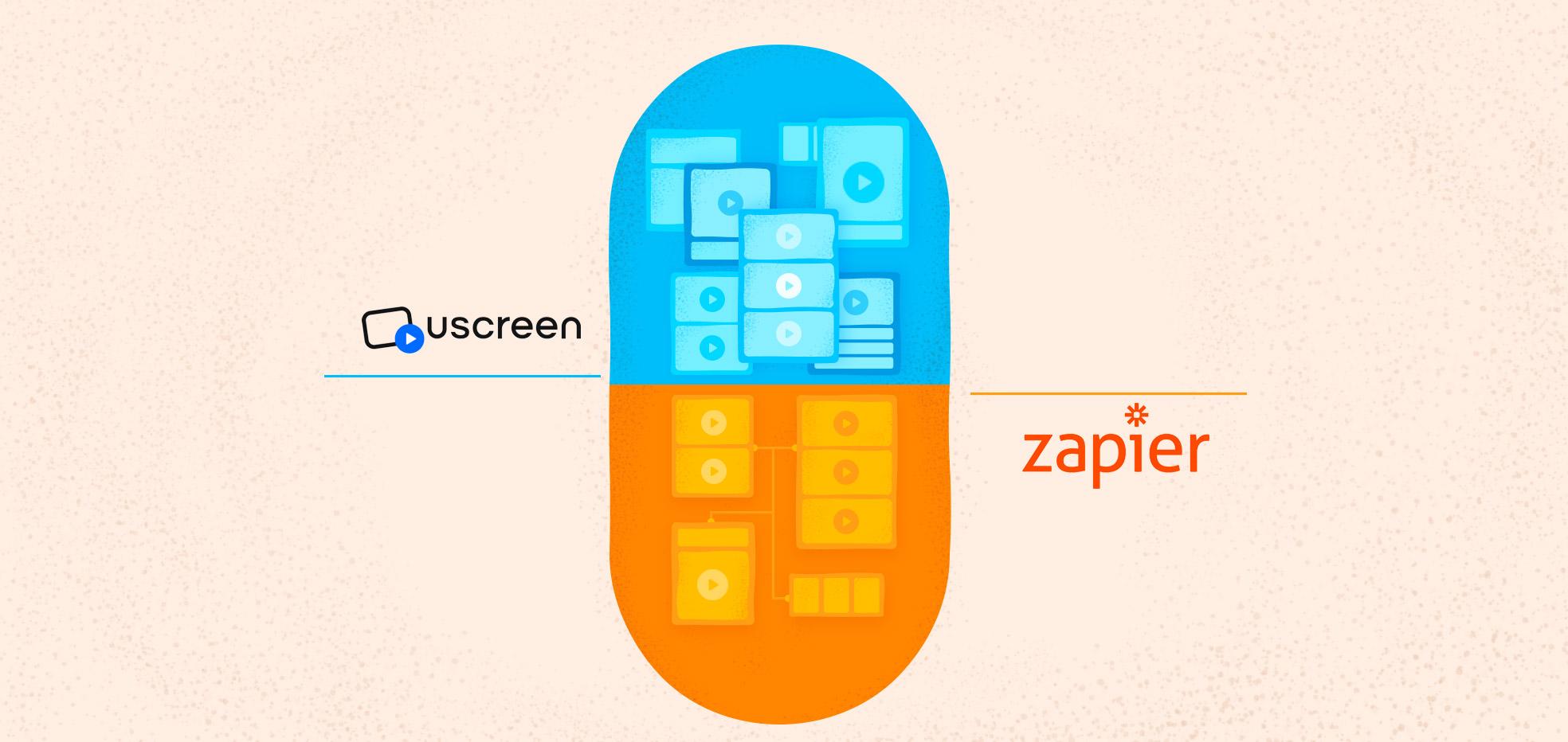 Uscreen Zapier Integration Announcement