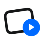 Uscreen Black Logo