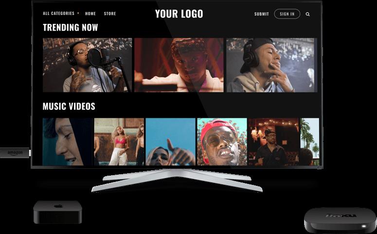 OTT platform on TVs
