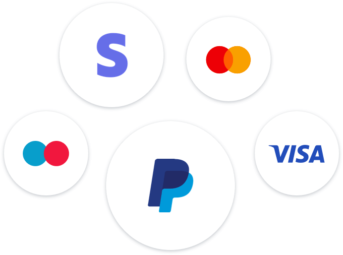 get money instantly via stripe and paypal