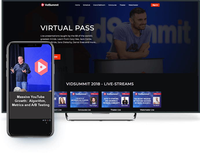 Your branded VoD platform on mobile and TV devices