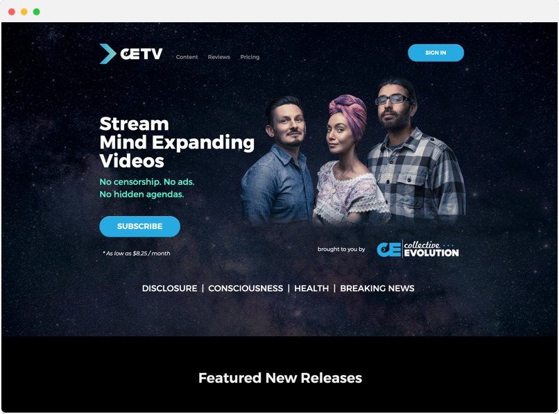 CETV website