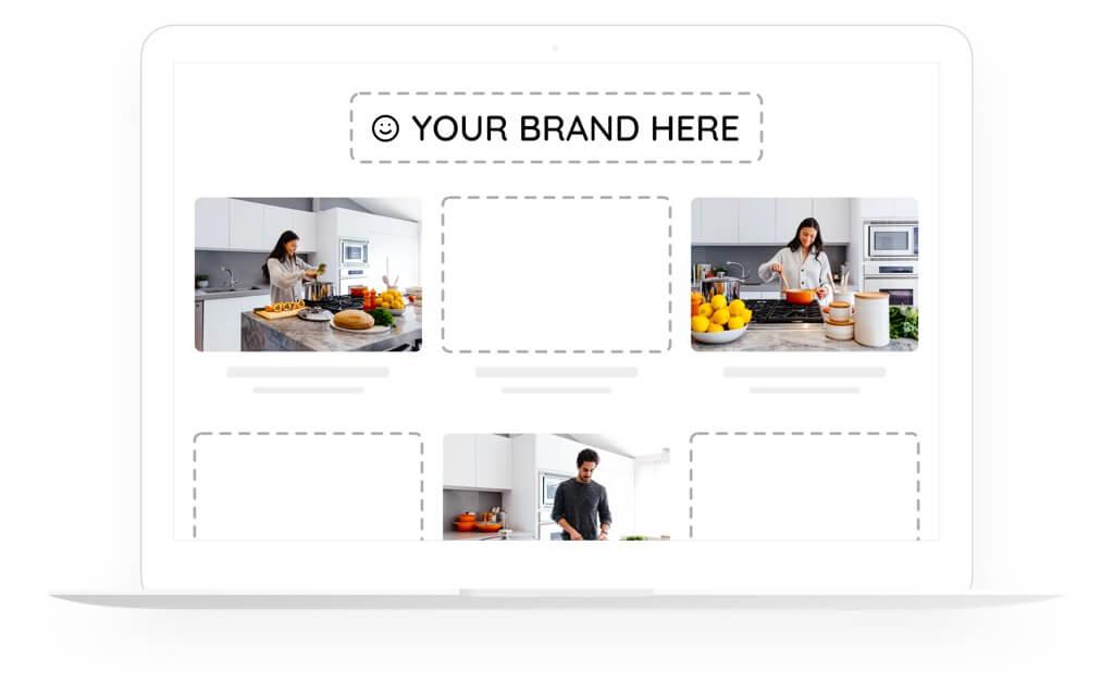 Fully customizable VOD website