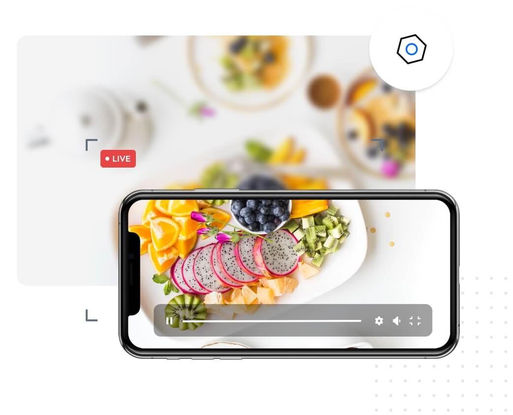 instant live streaming platform