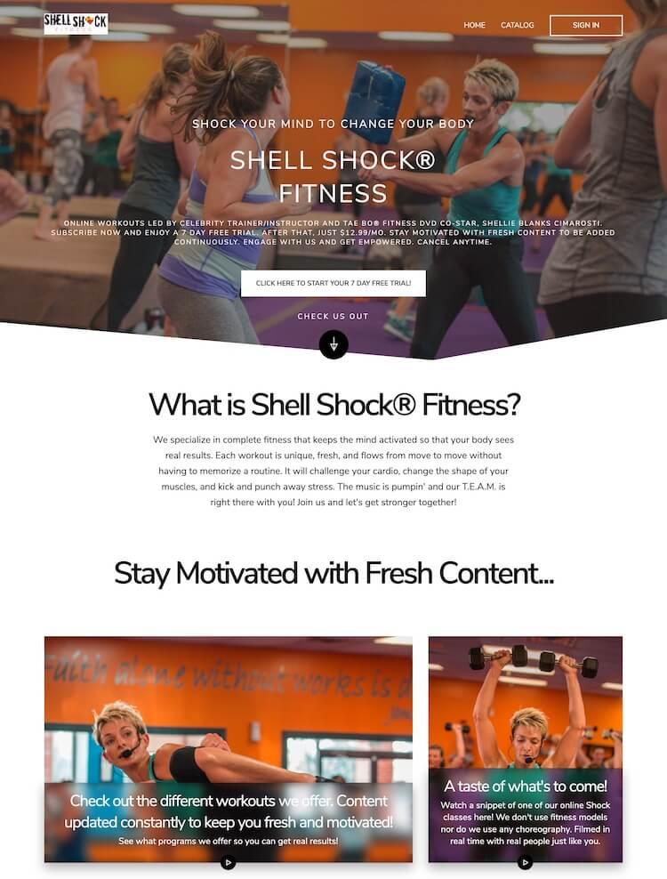 Make more money online fitness shellshock