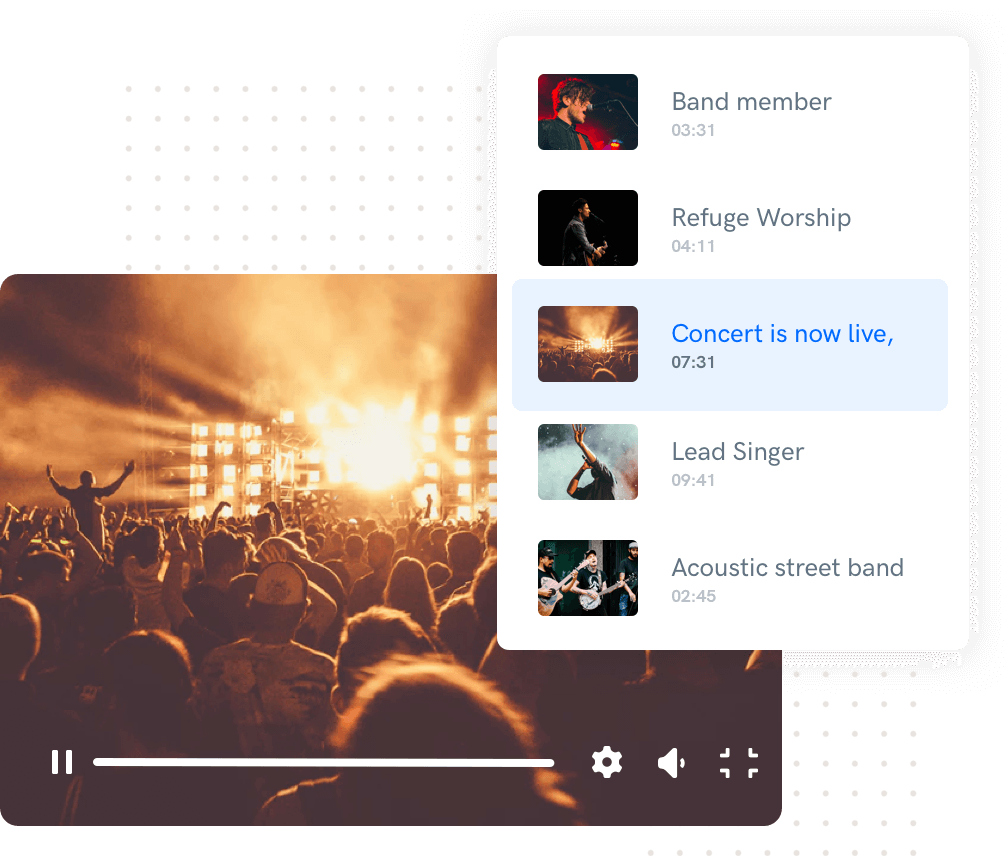 Build smart playlists with Uscreen