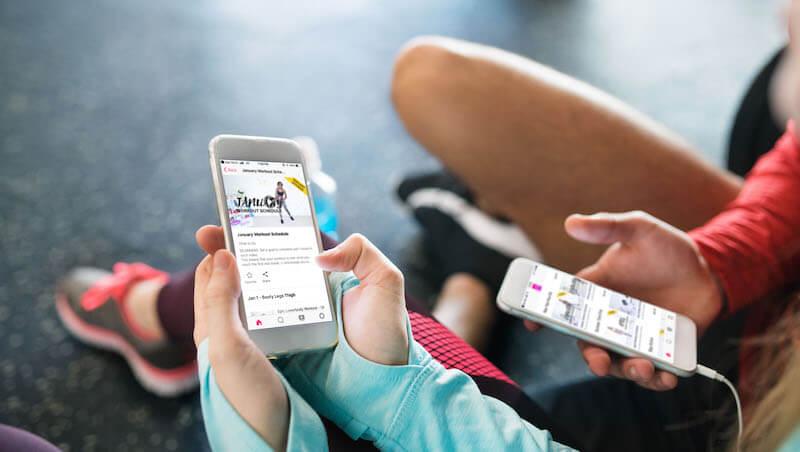 OTT fitness apps