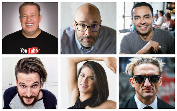 VidSummit 2019 Influencers and Speakers