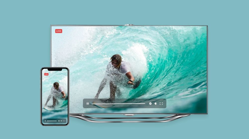 OTT live streaming apps for mobile devices