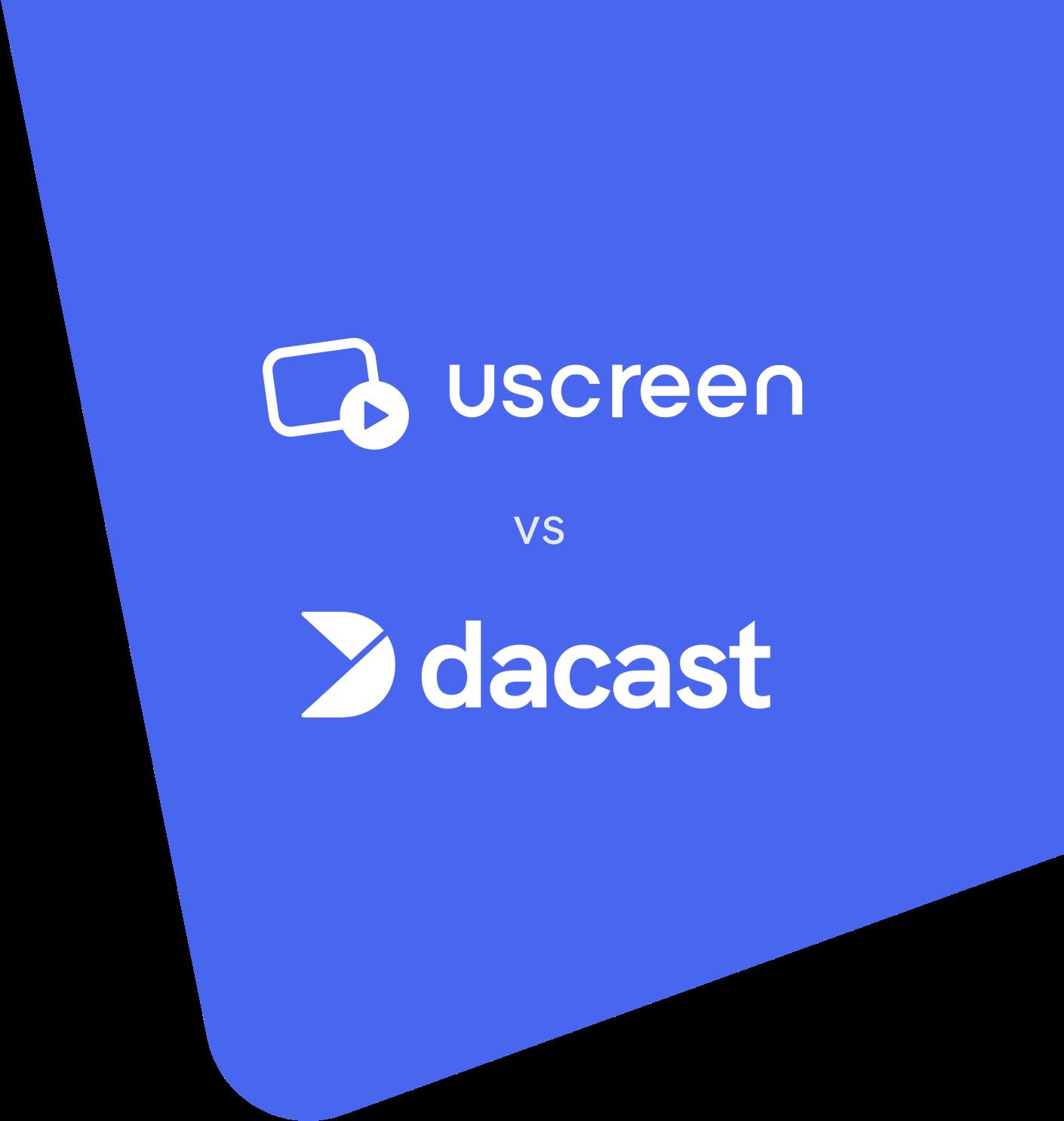Uscreen vs Dacast