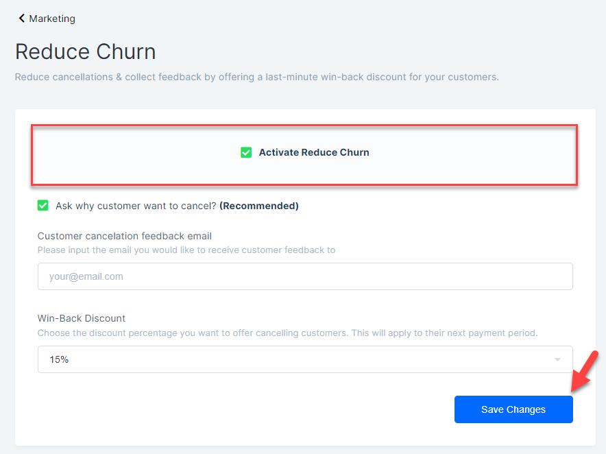 reduce churn SVOD