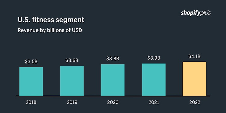 Digital fitness industry revenue - the future of fitness lies in the digital experience