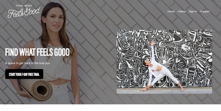 Find What Feels Good Yoga streaming Homepage