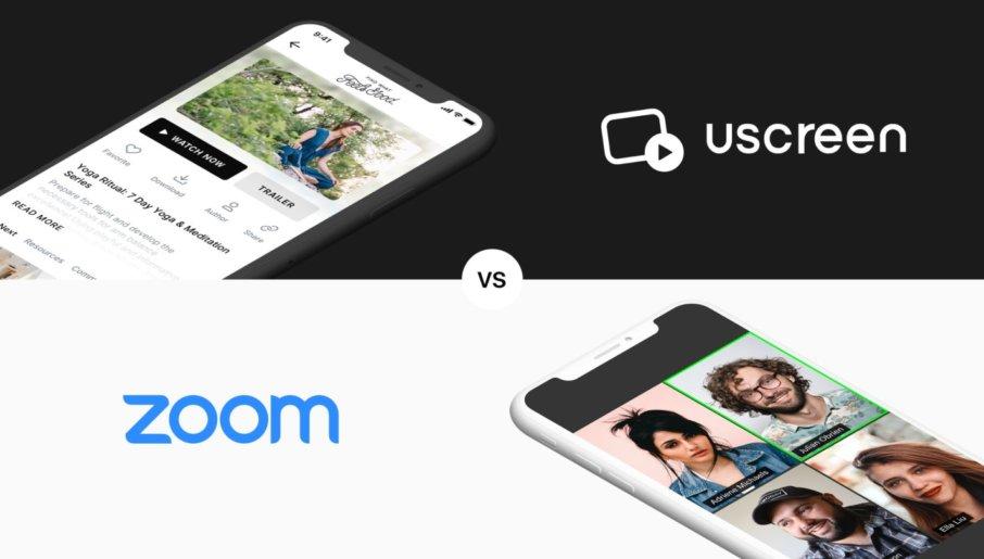 Uscreen vs. Zoom