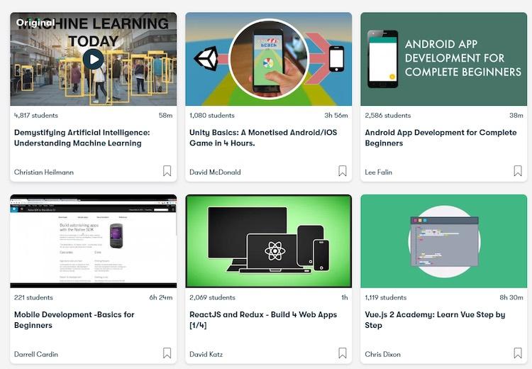 skillshare courses diy streaming app