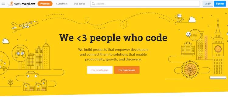 stack overflow hire developer