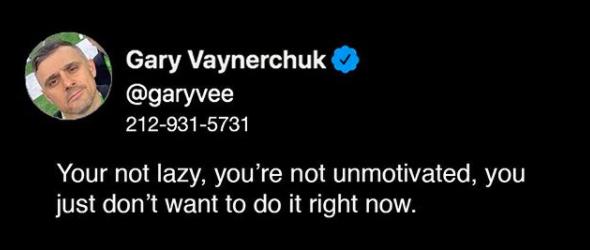 Gary Vaynerchuck tweet