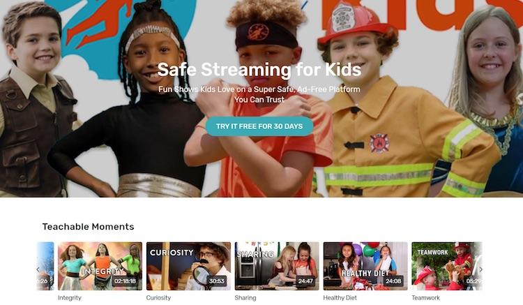 New Sky Kids homepage