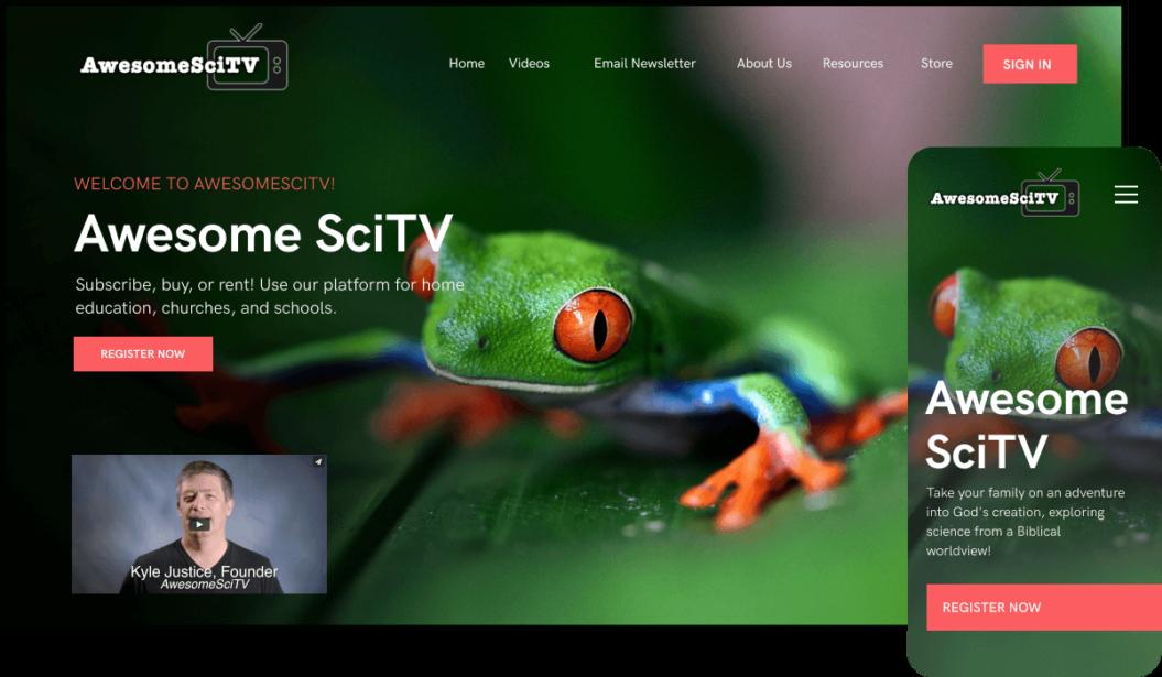 AwesomeSciTV VOD service