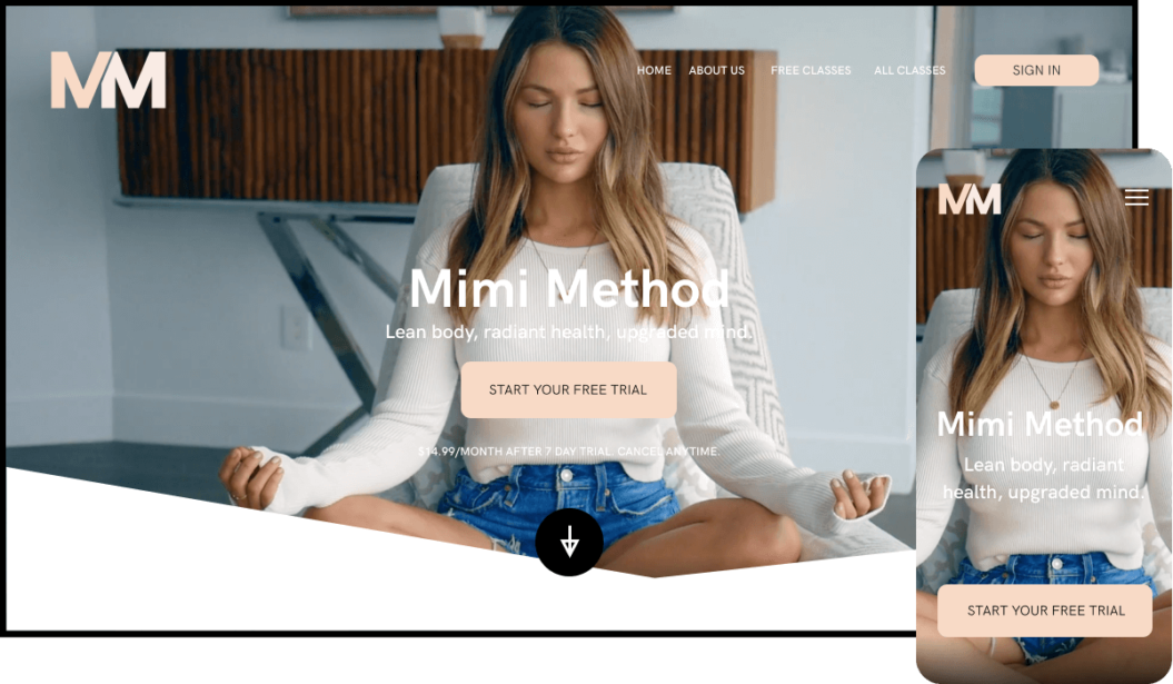 The Mimi Method Yoga Streaming Service