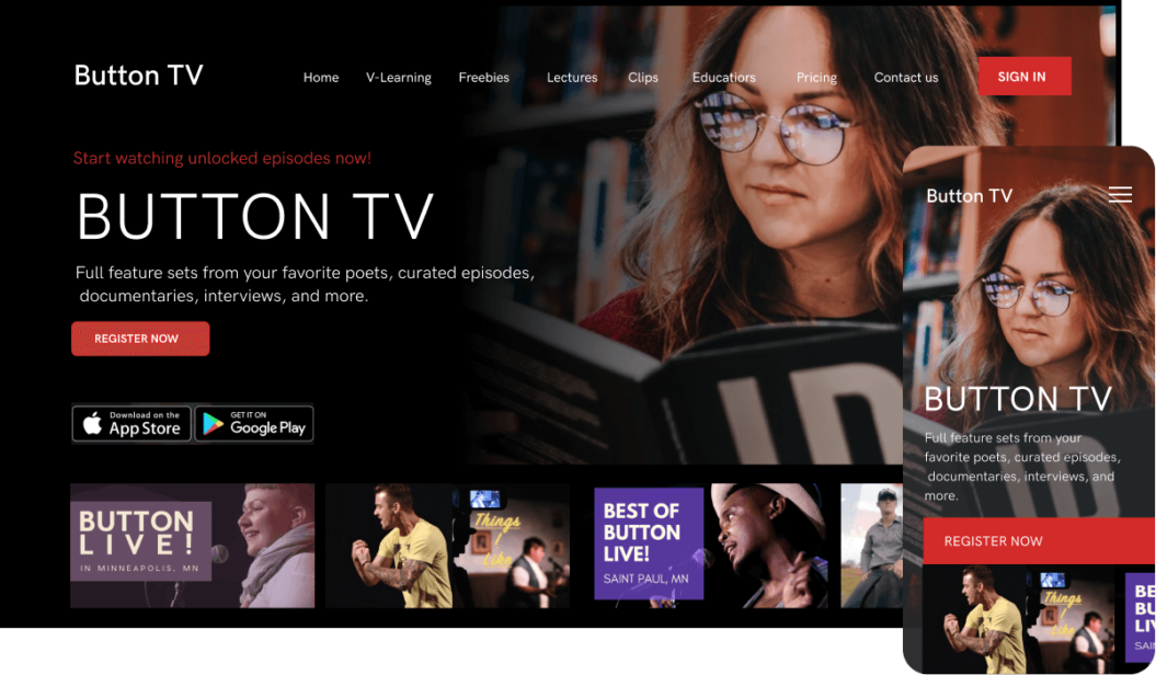 Button TV Vod service