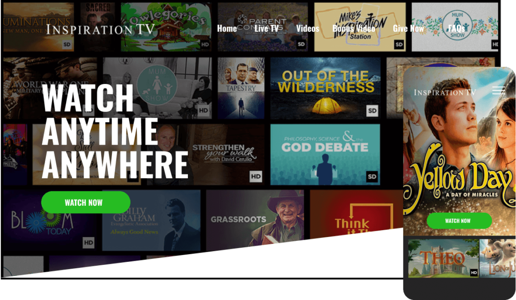 Inspiration TV VOD service