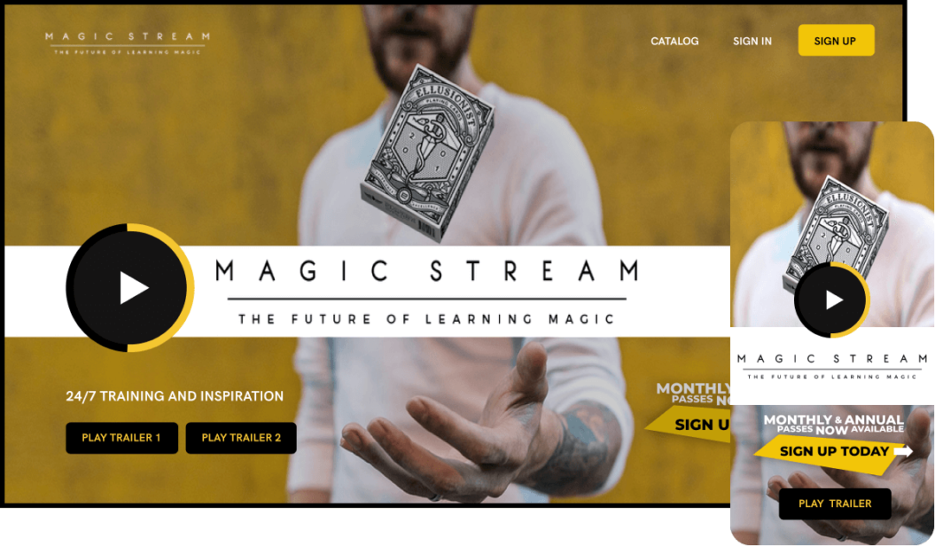 Magic Stream eLearning Service