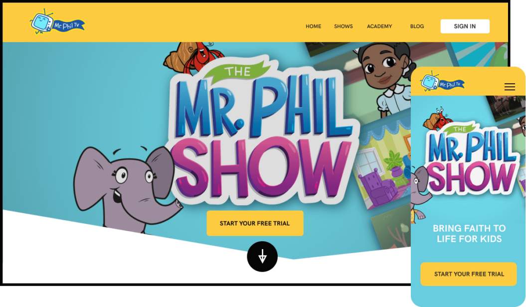 Mr. Phil TV Streaming Service