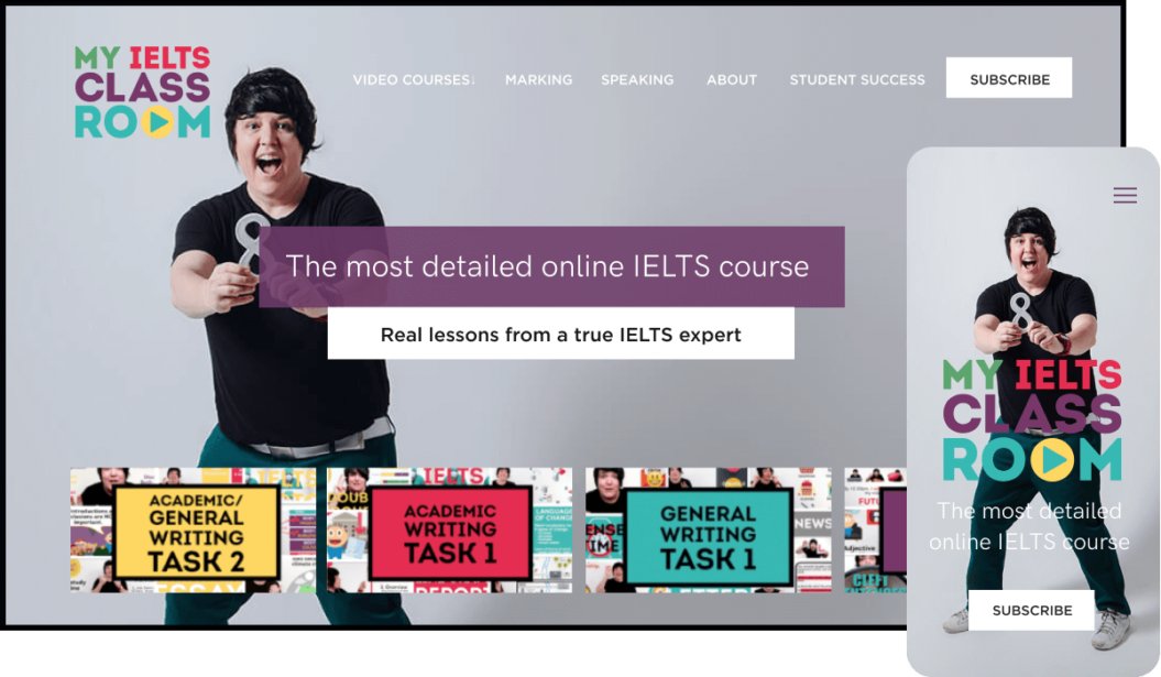 My IELTS Classroom Video subscription service