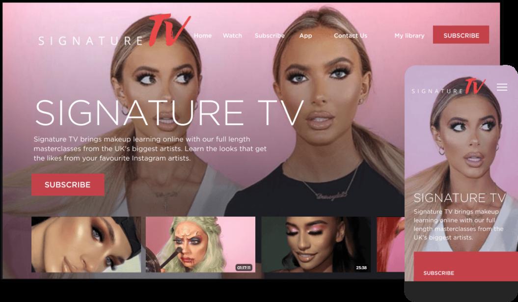 Signature TV VOD Service