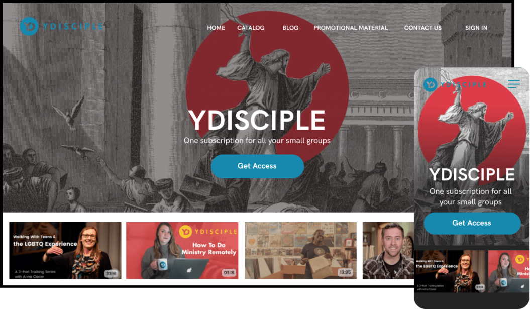 YDISCIPLE Streaming Service