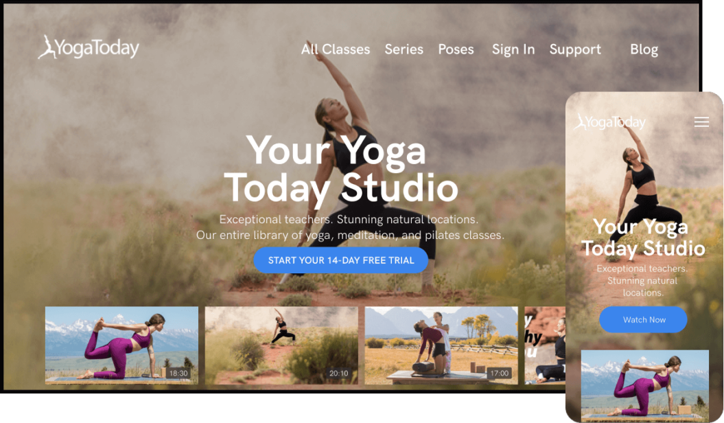 Yoga Today VOD service